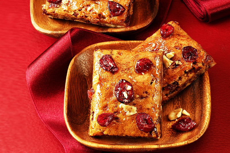Cranberry Lebkuchen | Rezept