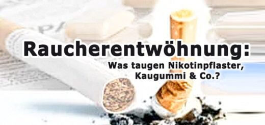 Nikotinpflaster & Co. zur Raucherentwöhnung?