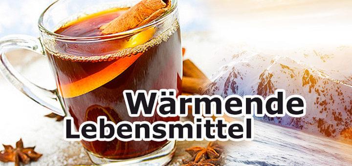 Wärmende Lebensmittel für den Winter - 10 Tipps gegen die Kälte