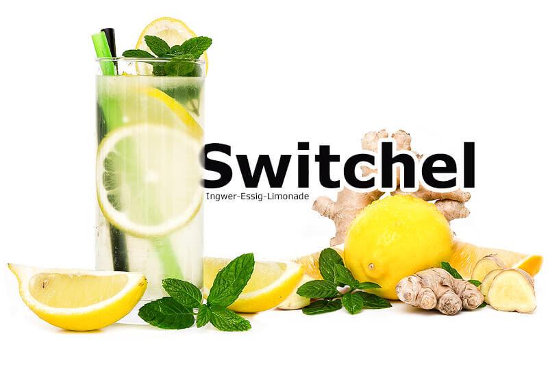 Switchel - Ingwer-Essig Limonade | Rezept
