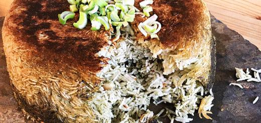 Polo Sabzi - persischer Kräuterreis