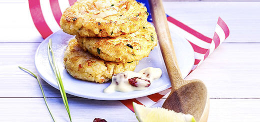 Crab Cakes mit Cranberry-Aioli | Rezept