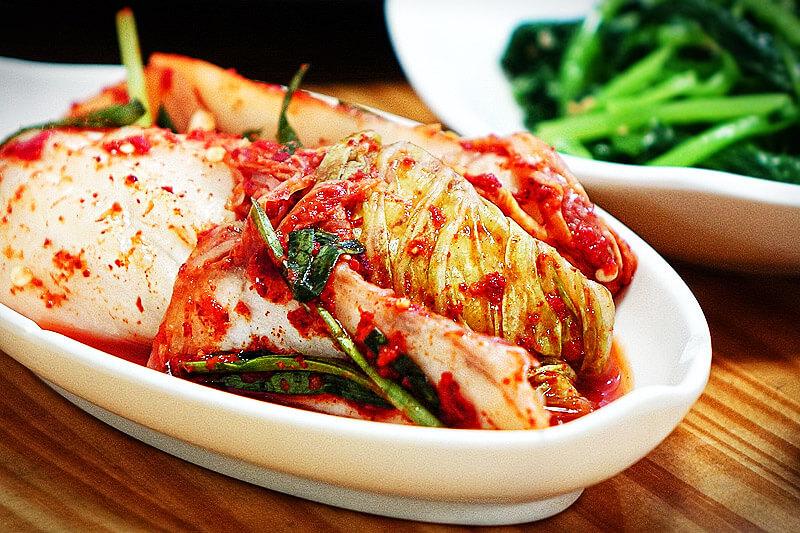Kimchi - fermentierter Chinakohl