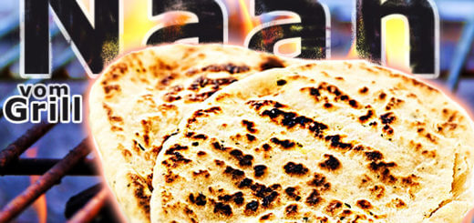 Naan Brot vom Grill