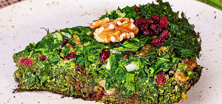 Kuku sabzi - persisches Kräuteromelett | Rezept