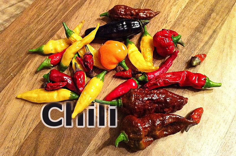 Chili - gesunde Scharfmacher für den Gaumen
