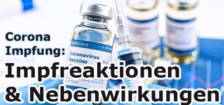 Corona-Impfung: Infos zu Impfreaktionen und Nebenwirkungen