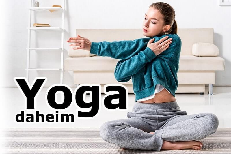 Mit Yoga daheim durch schwierige Zeiten
