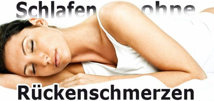 Rückenschmerzen nach dem Schlaf? Das sollten Sie tun.