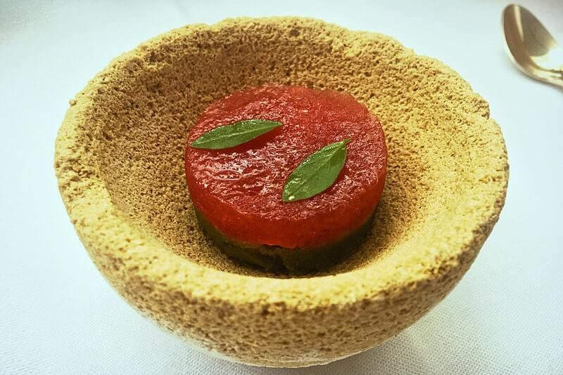 Gelee von Tomate & Basilikum | Rezept