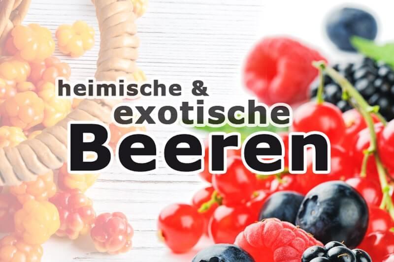 Heimische vs. exotische Beeren - Superfood im Vergleich