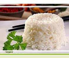 Gemüse-Reispfanne mit Krabben