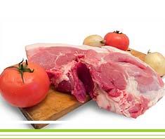 Kräuter-Kotelett mit Grillgemüse | Rezept