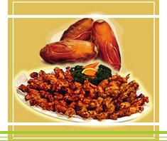Orientalisches Huhn mit Datteln | Rezept