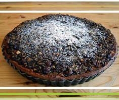 Apfel-Mohnkuchen mit Rosinen | Rezept