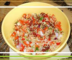 Bulgur-Chili-Salat