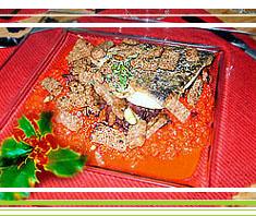 Karpfen polnisch mit Paprikasauce
