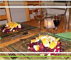 Rotkrautsalat mit Winterfrüchten