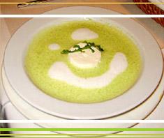 Rucola-Cremesuppe