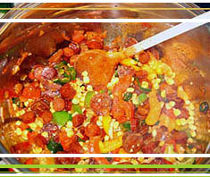 original Texas-Chili mit Chorizo Wurst