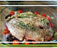 gefüllter Lammbraten mit Ofengemüse