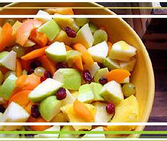 erfrischender Obstsalat