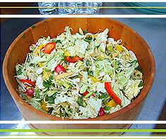 Scharfer Thai-Salat: spicy & hot