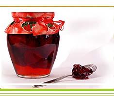 Erdbeermarmelade mit Pfefferminze | Rezept