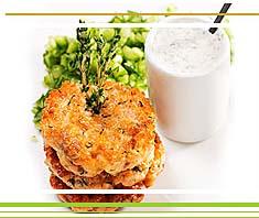 Gemüselaibchen mit Joghurt | Rezept