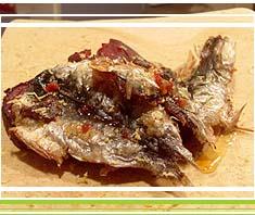 Rezept: Sardinenfilets gebraten mit Roten Rüben