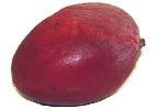Mangos sind grün oder rot erhältlich