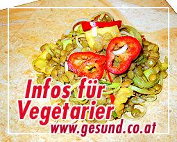 Informationen für Vegetarier