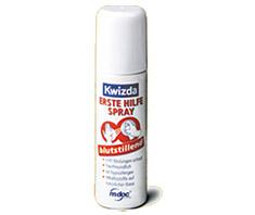 Wenn's blutet, schnell zur Hand: der neue Erste Hilfe-Spray
