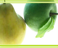 Obst und Gemüse gegen freie Radikale