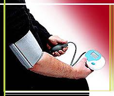 Nicht vergessen: Blutdruck messen!