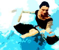 Shiatsu im Wasser: Watsu