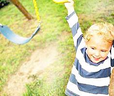 Kinderunfälle beim Spielen