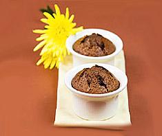 Süßes aus der 5-Elemente-Küche: flüssiger Schokokuchen
